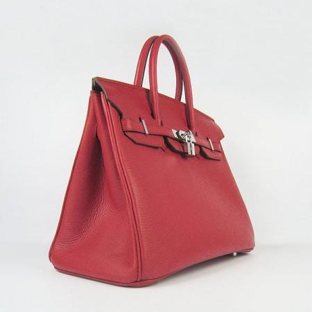 b66fb6bc64 Hermes Birkin 35cm Togo Leather Handbag Red Gold For Sale