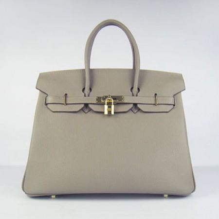 e20f489da90 Hermes Birkin 35cm Cattle Skin Stripe Handbags Khaki Gold For Sale
