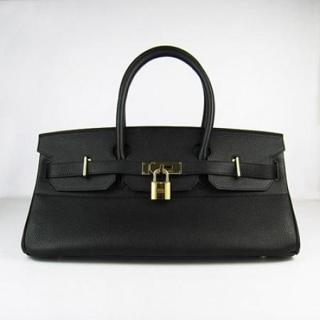 c4797a8e6ded Hermes Birkin 42Cm Togo Leather Handbags Black Gold ...