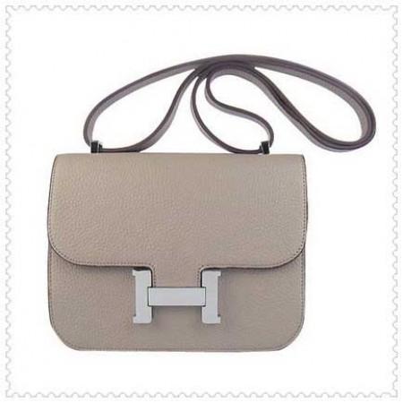c036be318b8 Hermes Constance Replica Shoulder Bag Beige Silver ,Discount