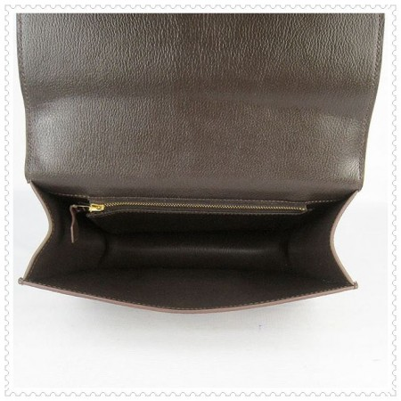 Hermes Constance Shoulder Bag Hepatic Gold
