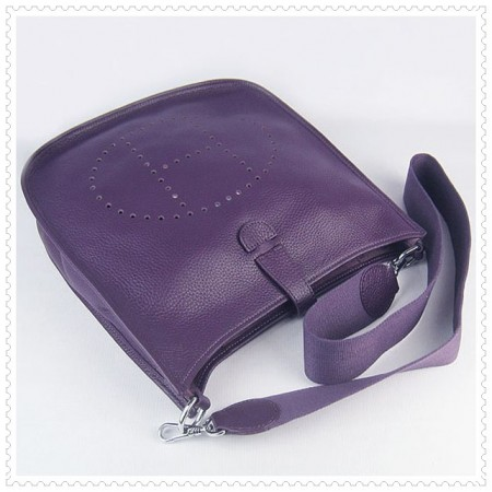 Hermes Evelyne III Bag Purple