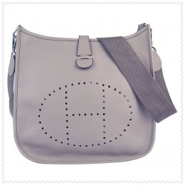 Hermes Evelyne III Bag Grey