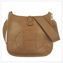 Hermes Evelyne III Bag Brown