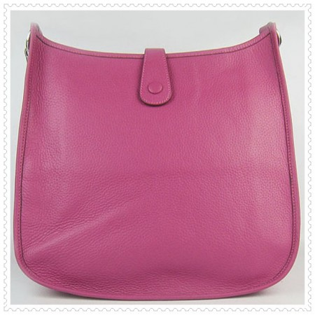 Hermes Evelyne III Bag Deep Pink