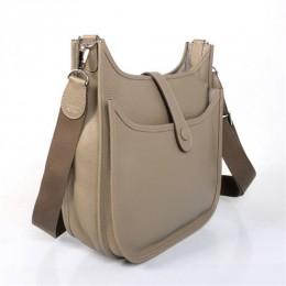 1e52a386ecb2 Hermes Evelyne GM W32cm Messanger Bag Grey