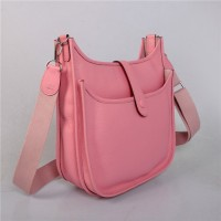 Hermes Evelyne GM W32cm Bag Pink