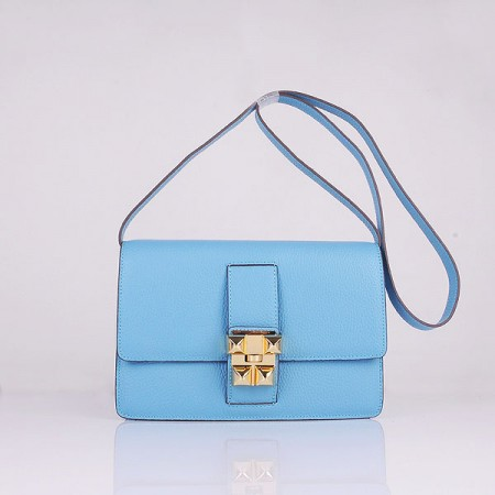 4cf7621c6a48 ... uk hermes medor light blue calfskin shoulder bag gold d270e 91440