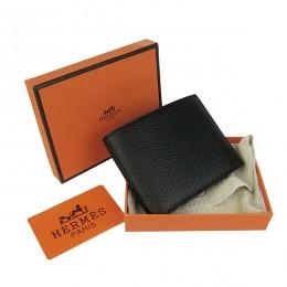 Hermes H014 Mini short Wallet Black