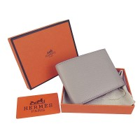 Hermes H014 Mini short Wallet Gray