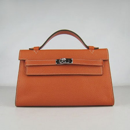 Hermes Kelly 22Cm Handbag Orange