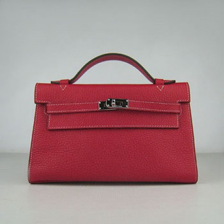 Hermes Kelly 22Cm Handbag Red