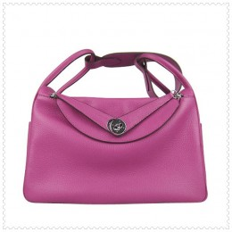 Hermes Lindy Handbag Peach