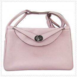 Hermes Lindy Handbag Pink