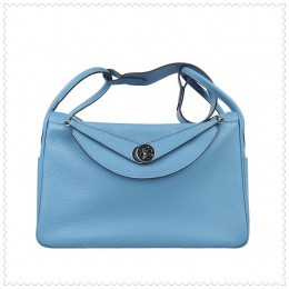 Hermes Lindy Handbag Blue