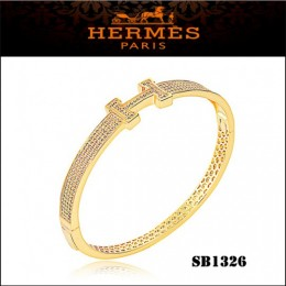 Hermes Clic H Bracelet Gold With Diamonds