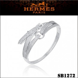 Hermes Debridee Bracelet White Gold With Diamonds