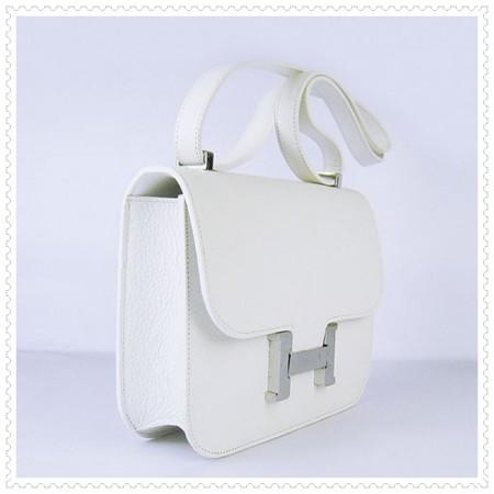 Hermes Constance Shoulder Bag Beige Gold