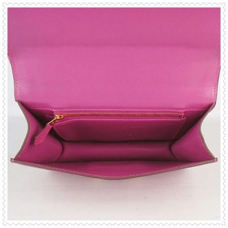 Hermes Constance Shoulder Bag Peach Gold