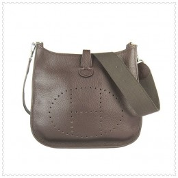 Hermes Evelyne III Bag Chocolate