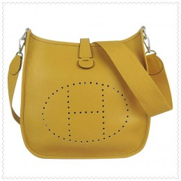 Hermes Evelyne III Bag Yellow