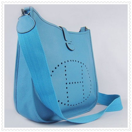 Hermes Evelyne III Bag Skyblue