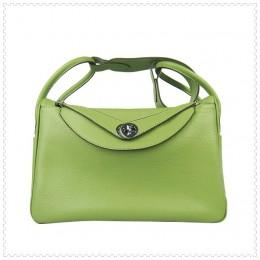 Hermes Lindy Handbag Green